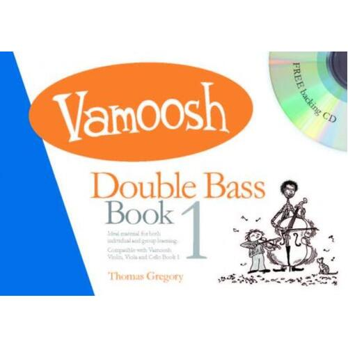 Vamoosh Double Bass Book 1 Book/CD (Softcover Book/CD)