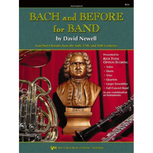 Bach And Before For Band E Flat Alto clarinet
