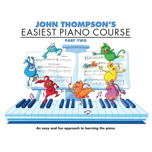Easiest Piano Course Part 2 (Softcover Book)