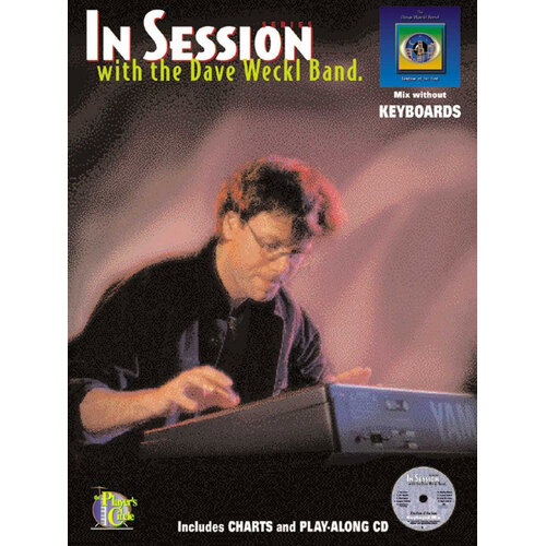 In Session With Dave Weckl Band Keyboards Book/CD (Softcover Book/CD)