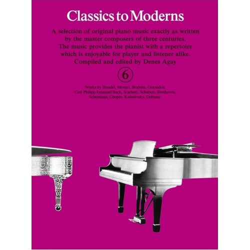 Classics To Moderns Book 6 (Softcover Book)