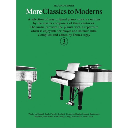 More Classics To Moderns Book 3 (Softcover Book)