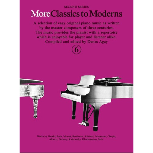More Classics To Moderns Book 6 (Softcover Book)